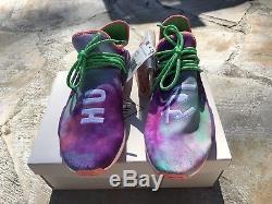 Adidas Pharrell Williams Human Race Coral Nmd Hu Holi Rose Tie Dye Taille 11