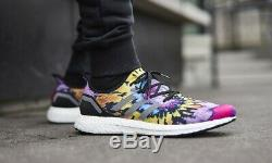 Adidas Speedfactory Am4atl Hommes (taille 9 12) Nylon Boost Tie-dye Multicolore