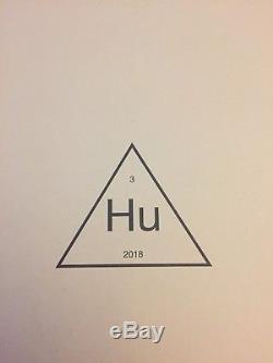 Adidas X Pharrell Williams Corail De Course Humaine Taille 9,5 Nmd Hu Holi Pink Tie Dye
