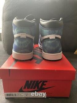 Air Jordan 1 Rétro Haute Og Tie Dye Taille 6,5 W (5 Hommes)