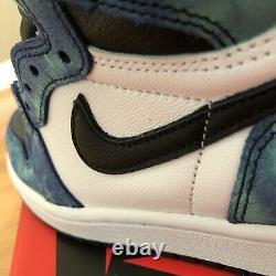 Air Jordan 1 Retro High Tie Dye Taille 8 Wmns = 6,5 Mens Livraison Gratuite