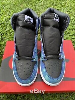 Air Jordan Retro 1 Tie Dye Tout Neuf Jamais Porté Avec La Boîte Originale Tie Dye Jordan