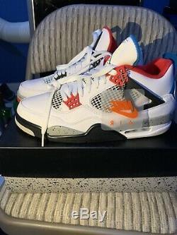 Air Jordan Retro 4 Taille 10 Ce Que Le Brand New Stock De X Jamais Worn