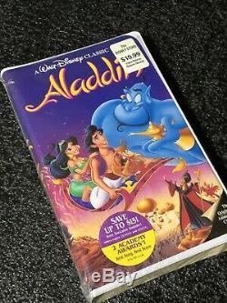 Aladdin T-shirt Genie All Over Tie Dye Disney Imprimer Vtg Shirt Disney World + Vhs