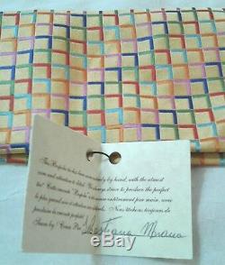 B Nouveaux Hommes Robe Cravate Fait À La Main Coloré Or Brillant Fantaisie Nice Multicolor S
