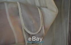 Bcbg Maxazria Piste Sheer 100% Trench Robe De Veste Du Genou En Soie M $ Nouveau 1295