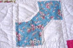 Belles Impressions Et Solides Bow Tie Quilt C 1930