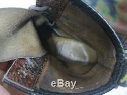 Bottes Multicolores Dr. Tie Dye Vintage De Marque Martens Fabriquées En Angleterre Taille Uk 3 Us 5