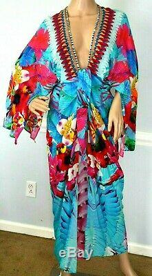 Camilla Franks The Free Kimono Kaftan Cardi Cap Robe Coverup Veste Large / 3