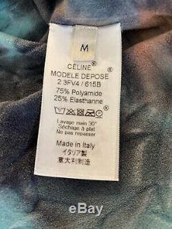 Celine Tie Dyed Col Haut Pull Top (m), Phoebe Philo Printemps 2018 Iconic Nouveau