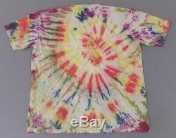 Céramique En Ligne T-shirt T-shirt Teint Tie Dye T-shirt Homme Hd3 Multicolore Taille XL