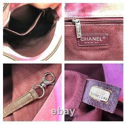 Chanel Authentic CC Logo Flower Power Tie Dye Messenger Crossbody Sac $4300 Rare