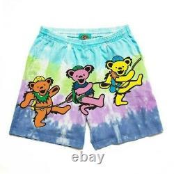 Chinatown Market X Grateful Dead Pma Tie Dye Nylon Shorts Taille Petite
