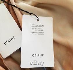 Collier Celine Phoebe Philo 2018 Echarpe En Soie Colorante De La Campagne Ad