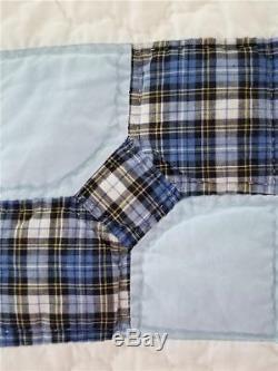 Colliers Vintage Bow Tie Quilt Quilt Fait Main Des Années 1930 Aux Années 1940