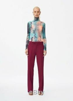Coton Iconic Tie Dyed T-shirt À Manches Collées (m), Phoebe Philo Printemps 2018