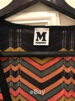 Cravate À Bandoulière Multicolore M Missoni, Taille 40