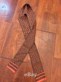 Cravate En Écharpe En Soie Avec Monogramme Rare Dot Monogram Louis Vuit