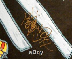 Cravate Feng Jiang Pour S'envoler Rare Art Sérigraphie Avec Encadré Personnalisé Signé À La Main L @@ K