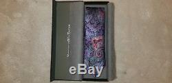 Cravate Paisley Pourpre Et Multicolore Ermenegildo Zegna Quindici En Édition Limitée Nouveau