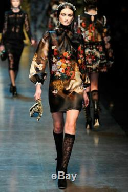 Dolce & Gabbana Robe En Soie Taille 40 Eu