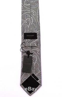 Duchamp London, Cravate Multicolor'paisley Poise '2012, Faite À La Main, Magnifique