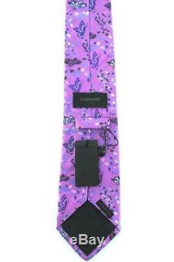 Duchamp London, Cravate Vibrant 2010 Classique Multicolor'papillon Forest ', Bretelle