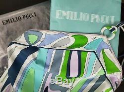 Emilio Pucci Nwot - Mini Robe Multicolore À Anneau Et Anneau Multicolores - Sz 46 / 10us