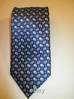Ermenegildo Zegna Multicolore Cravate 100% Soie De Qualité Supérieure