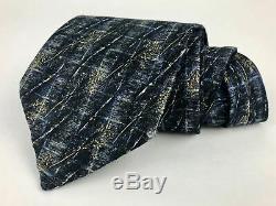 Ermenegildo Zenga Cravate Classique Largeur 100% Soie Multicolore