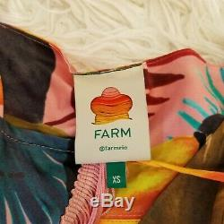 Ferme Rio Femmes Txs Tropical Tucano Fringe Robe Portefeuille Nouveauté Imprimer Parrot