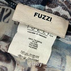 Fuzzi Jean Paul Gaultier Femme Plaza De Torros Wrap Shirt/blouse Small