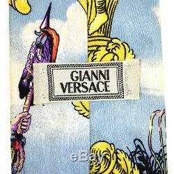 Gianni Versace Cravate En Soie Jacquard-tissage Cravate
