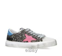 Golden Goose Ggdb Mai Sneakers 37 (7) Glitter Sneakers
