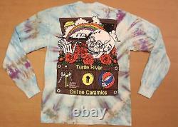 Grateful Céramiques En Ligne Hommes Dead River Tortue Tie Dye T Kb8 Multi Medium
