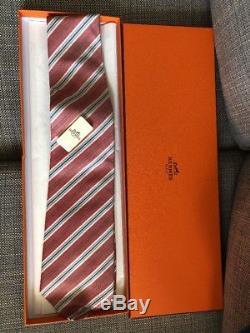 Hermes Paris Cravate Dans La Boîte W Tag
