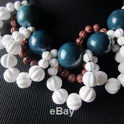 K-mp18060 New Authentique Marni Plastique Balle Vert Ruban Cravate Collier De Dames $ 299