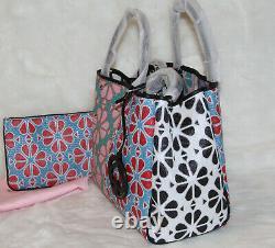 Kate Spade Everything Spade Flower Medium Tote Bag & Pouch Purse Sac À Main T.n.-o.