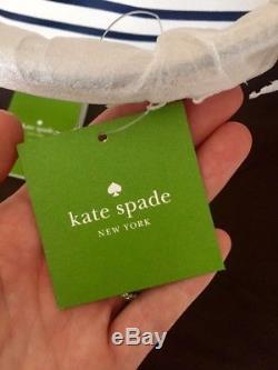 Kate Spade Wedding Belles'tie Fourre-tout En Toile À Rayures Bleu Marine Et Blanc The Knot '