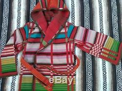 Laine Pendleton Wrap Veste Manteau À Capuchon Des Femmes S Aztec Couverture En Laine Boho Poncho