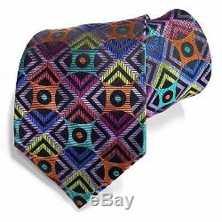 Lawrence Ivey Cravate Cravate Cravate Homme 100% Cravates En Soie Cravates Multicolores