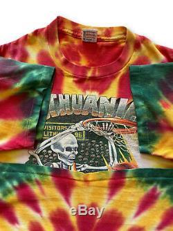 Lituanie Vintage Tie-dye De Basket-ball T-shirt XL Unique Point Tie Dye Tee