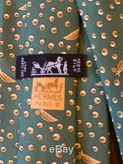 Lot De 15 Cravates Hermes 100% Soie. Cadeau De Vacances Parfait Pour Le Banquier / Avocat