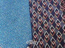 Lot De 6 Cravates En Soie Brioni Et Stefano Ricci