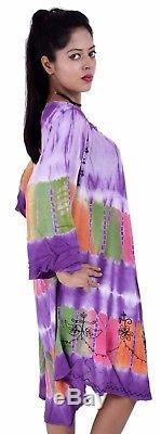 Lot En Gros Pour 5 Robes Parapluie Tie Dye Babydol