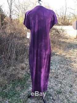 Lularoe Maria Robe Longue Nwt Large Tie Dye Lavage À L'acide Violet