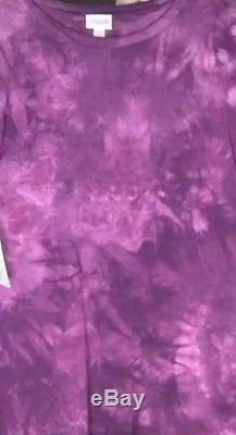 Lularoe Maria Tie Dye Tye, Xsmall Xs Tye Dye Motif Peut Varyvery Extensible
