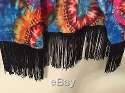 Lularoe Small Tie Dye Monroe Multicolore Automne Couvrir Unicorn Htf