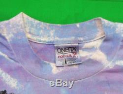 Metallica Vintage T Shirt Des Années 90 Concert 1994 Binge & Purge Tour Cravate Dye Rock Band