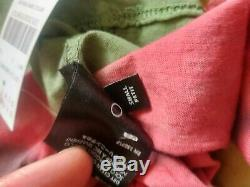 Mike Amiri Bones Paix Tie Dye Coton-jersey T-shirt T Sz Petit
